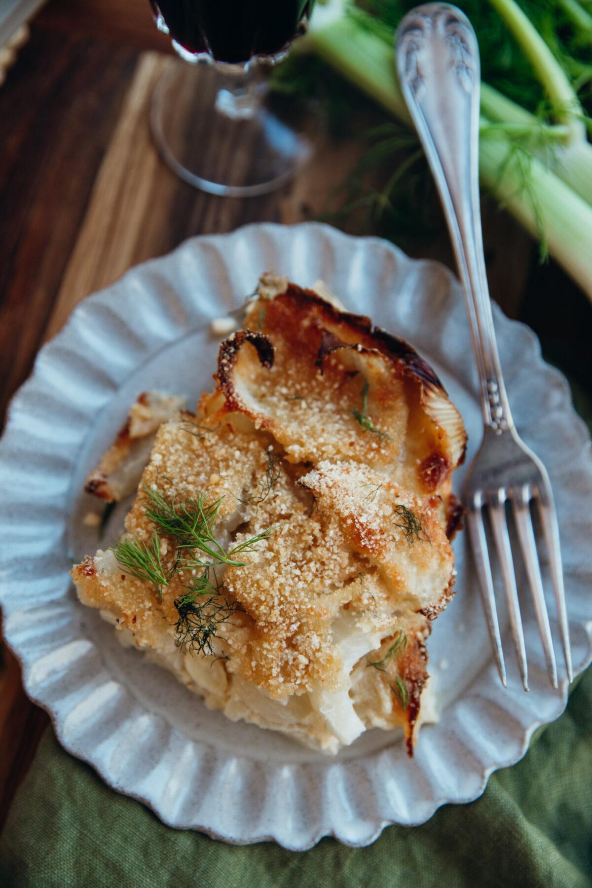 fenouils alla parmigiana