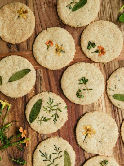 biscuits au parmesan recette