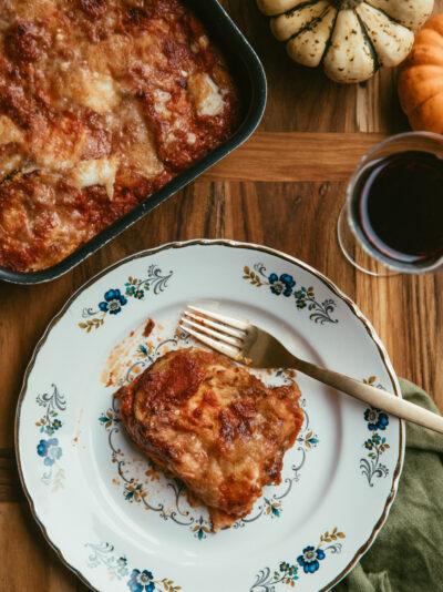butternut alla parmigiana recette