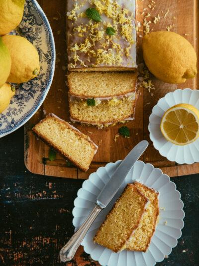 cake au citron de Sicile