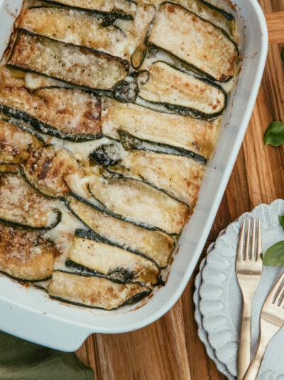 courgettes alla parmigiana recette