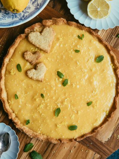 crostata au citron