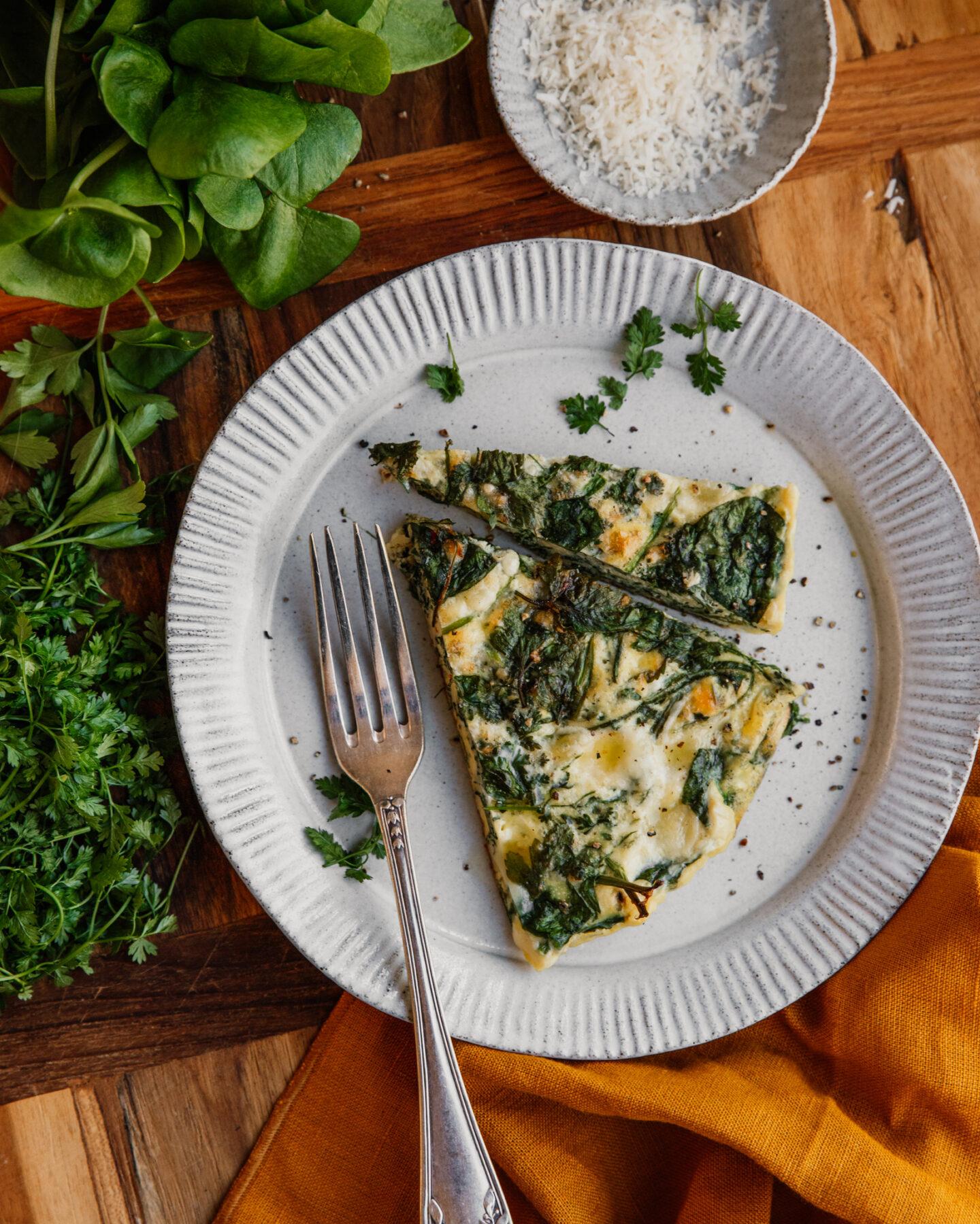 omelette de printemps