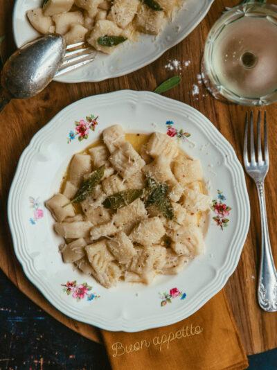 gnocchi beurre et sauge