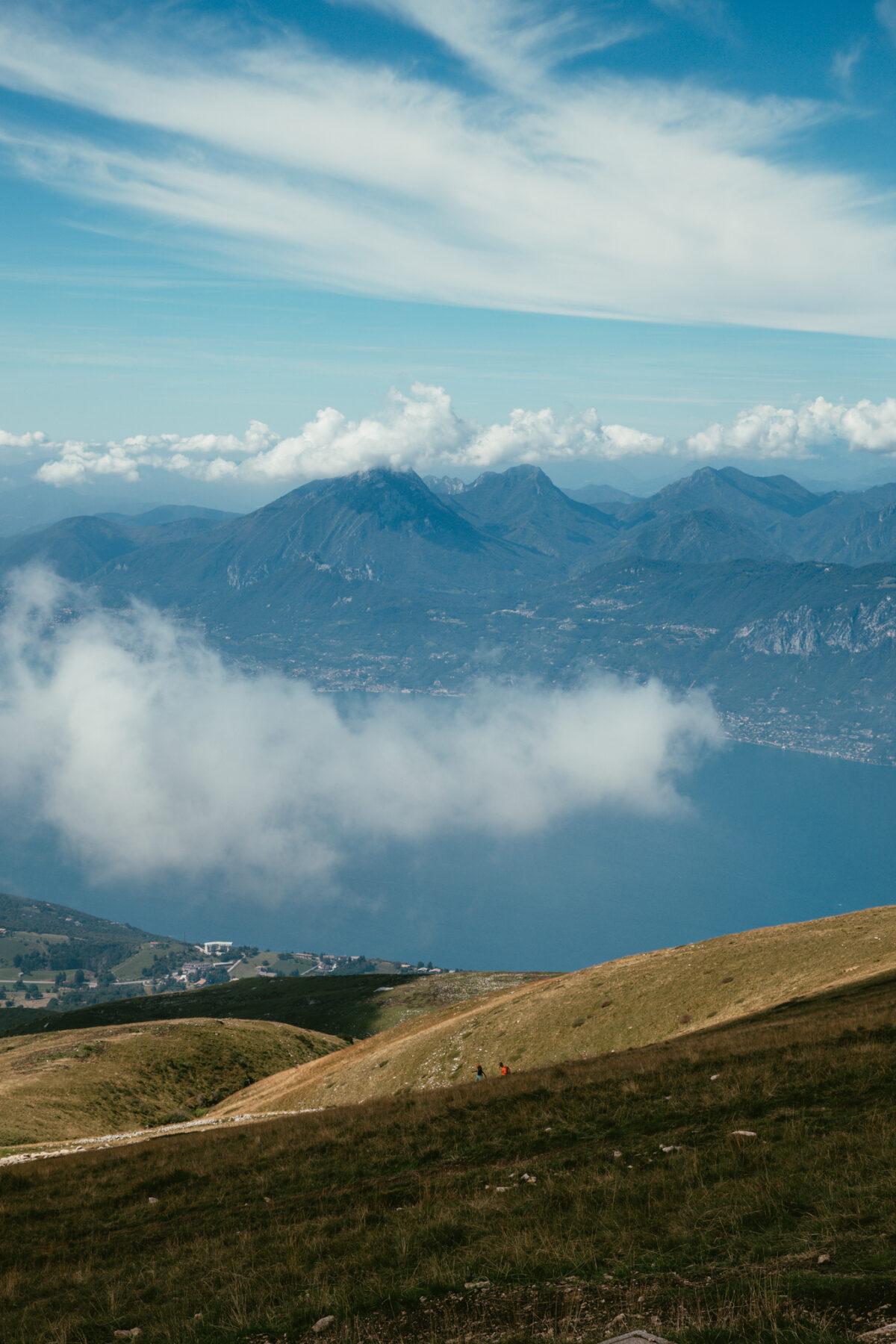 lac de garde Monte Baldo