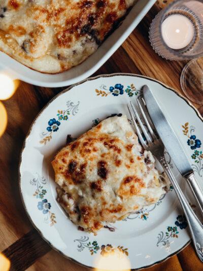 lasagne radicchio