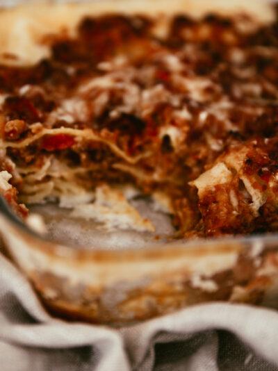 lasagnes maison recette