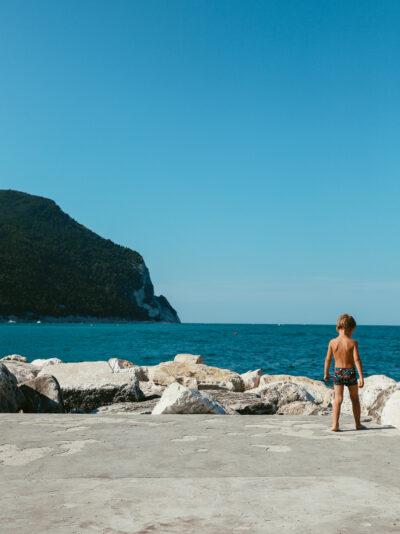 Vacances d'été en italie