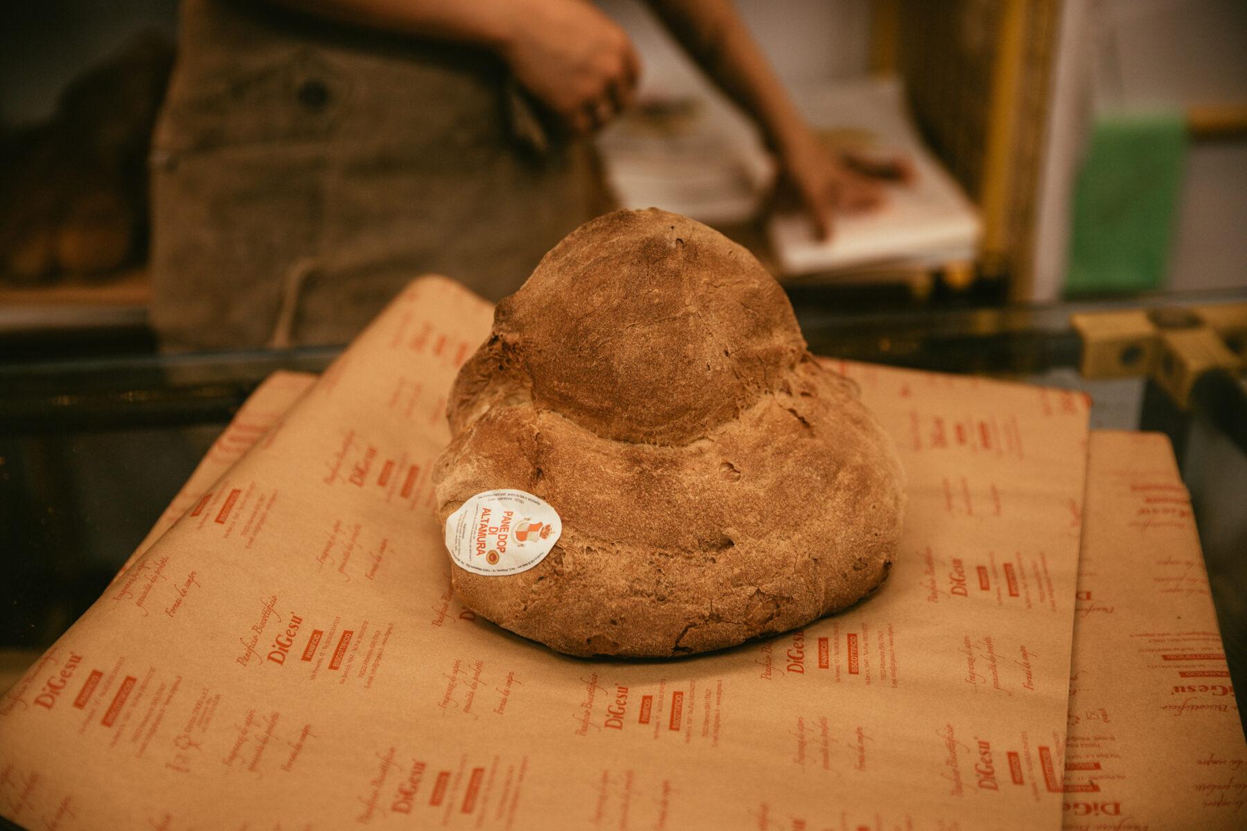pouilles pain d'altamura