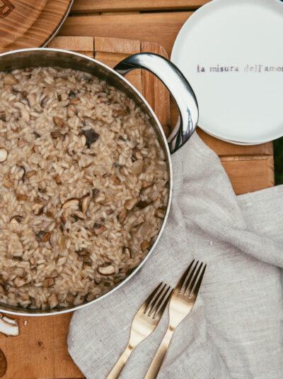 risotto aux champignons recettes