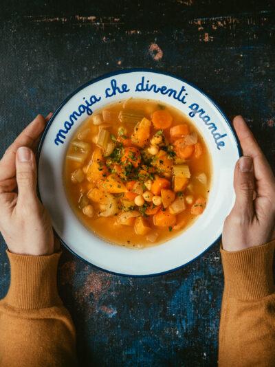 soupes et minestroni