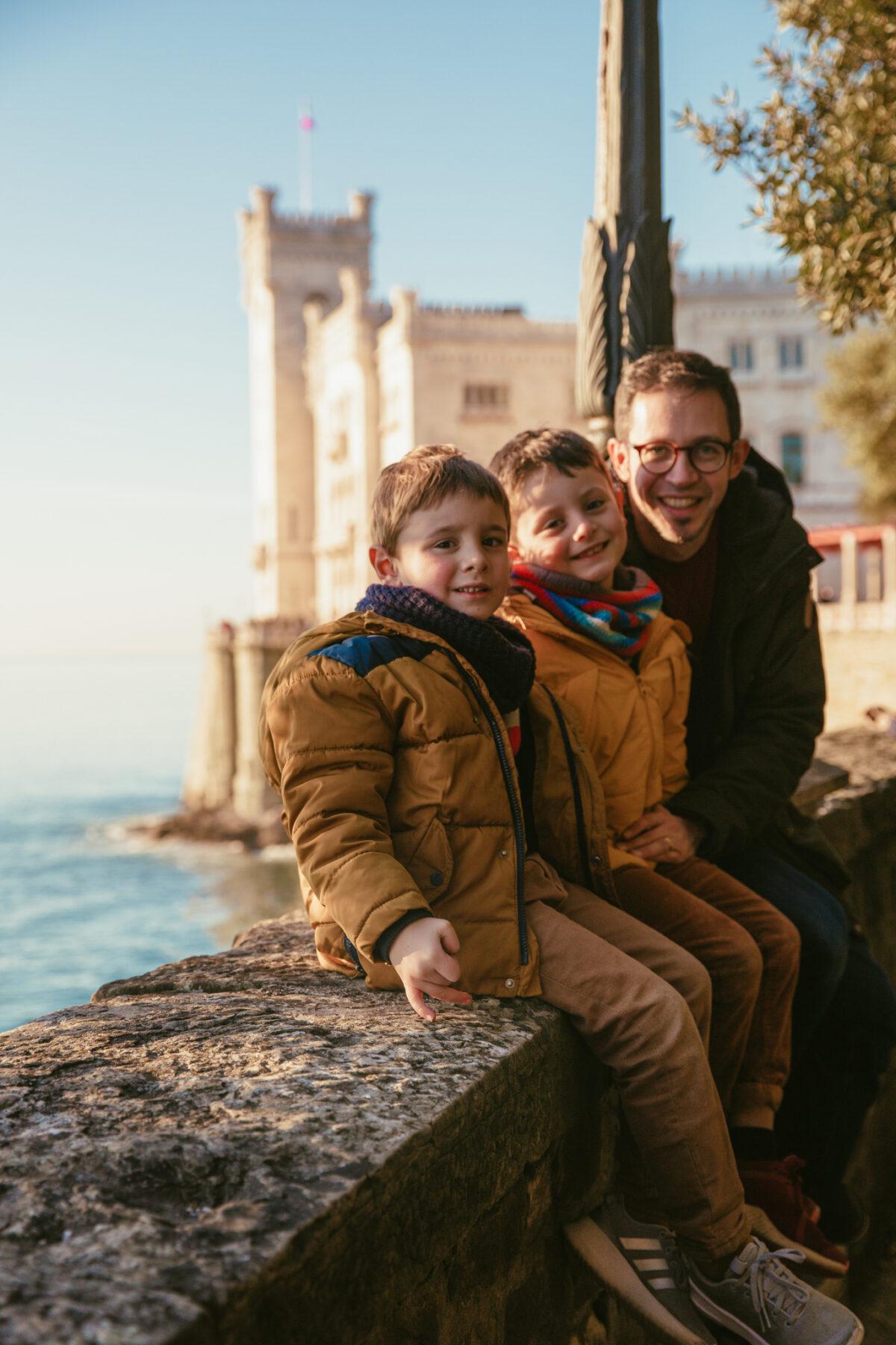 Trieste en famille miramare