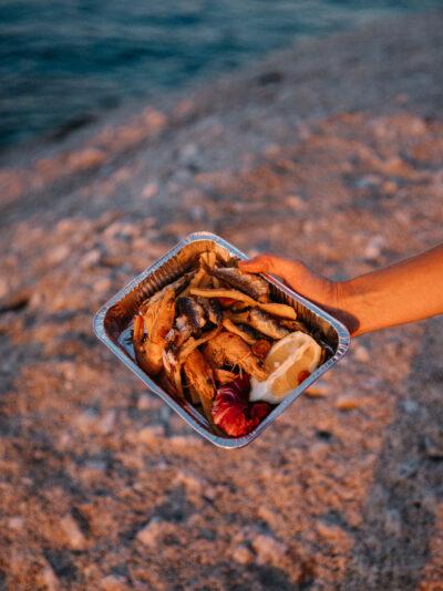où manger île d'elbe fritto misto coucher du soleil